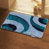Polyester fleece rug