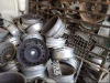 aluminum wheel scrap in bulk!