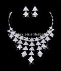Gorgeous Crystals Diamonds Bridal Wedding Jewelry Necklace (COLORFOX-NL-002)