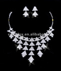Gorgeous Crystals Diamonds Bridal Wedding Jewelry Necklace (COLORFOX-NL-002)