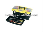 Plastic Toolbox 16-inch with Tray