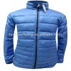 Men's duck down jacket with press polishing(CWM2101B)