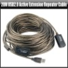20m USB2.0 Active Extension Repeater Cable Lead Wire 20 Meters, YAC151A