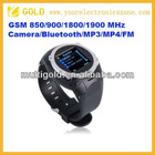 Quad Band Spy Camera 1.5 Inch Touch Screen Wrist Watch Phone