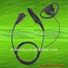 PMLN5000 D-shell earpiece with in-line PTT/Mic For GP320, GP330, GP340, GP360, GP380, GP640, GP680