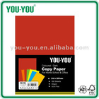 A4 100 sheets bright colors 70/80gsm, red, craft paper, folded paper for children 6 colors available