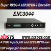 Four Channel super MPEG2 ip video Encoder within Multiplexer
