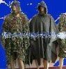 military ghuillie rainsuit camouflage net Poncho