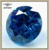 fashionable shinning sapphire blue gems