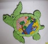 3D soft PVC turtle fridge magnet