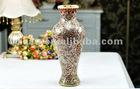 glass mosica flower vase