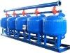 Quartz sand central water filter