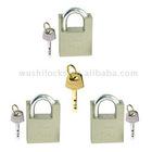 Keyed Alike Padlock Set w/Master Key