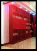 red single home/KTV/wedding string curtain