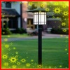 solar lampposts outdoors and indoor