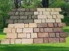 Outdoor granite stone paver