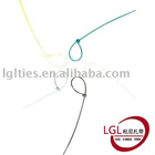LGL self-locking PA66 nylon plastic bandage cable tie 4.8*200 mm 8 inch