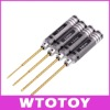 Tool set 4pcs Hexagonal Screwdriver for RC Helicopter Airplane