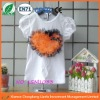 Orange Big Love pattern Posh Baby girls t shirt,fashion tops