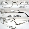 clear lens AM-LH-6289 men'design reading glasses