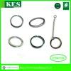Wholesales Steel 5.0mm Metal Plain Metal Keyrings