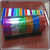 23micron colorful bright laser tape (zyl)