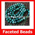 Faceted Green Lace Agate Gemstone Ball,Semi Precious Gemstone & Loose Beads,Nice Colors