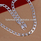 fashion 925 silver chain necklace N034