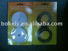 fasteners velcro tape in blister card