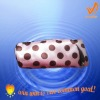 fashionable pink polka dot pencil case, pencil bag and stationery bag