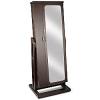 Wooden Standing Mirror