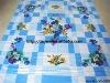 100% Cotton stock bedding set/ stock bed sheet/ flat sheet stock XY-S002
