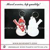 Marry Christmas PVC keychain hot sale