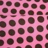 100% polyester printing short plush Fabric