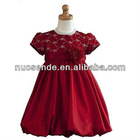 Real Sample Flower Girl Dresses 2012 Under 30 Evening Gown for children kids dresses for weddings
