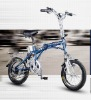 foldable lithium-ion electric bicycle