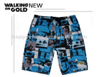 2012 fashion men beach short