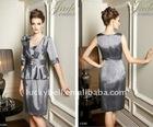 2012 Hot sale Elegant Quarter sleeve Jacket Suits dress