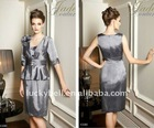 2012 Hot sale Elegant Quarter sleeve Jacket Suits dress
