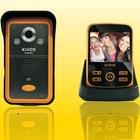 3.5inch LCD waterproof wireless video door phone intercom system