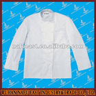 white classic chef and restaurant uniform