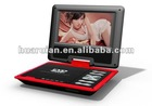 9 inch portable dvd player with FM radio