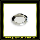 Silver Oval Make-up Mirror