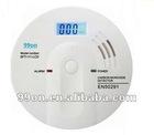 Carbon Monoxide Detector--CE EN50291 LCD display 7 years lifetime