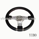 YB-4164A Leather Car Steering Wheel