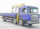 SQ3.5S TRUCK WITH CRANE, 3.5 ton Telescopic Boom Truck Crane