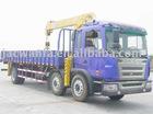 SQ3.5S TRUCK WITH CRANE, 3.5 ton Telescopic Boom Truck Crane