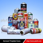 Tinplate/Aluminium empty Aerosol packing Cans