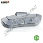 Bellright Casting Zinc Clip-on Wheel weight,wheel balance weight, Universal type, Super Quality