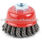 Knot Cup Brush 65 x M10 x 0.35 Wire